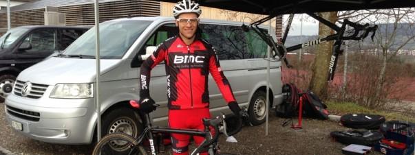 Ralph Näf fährt im Weltcup auf Rang 14