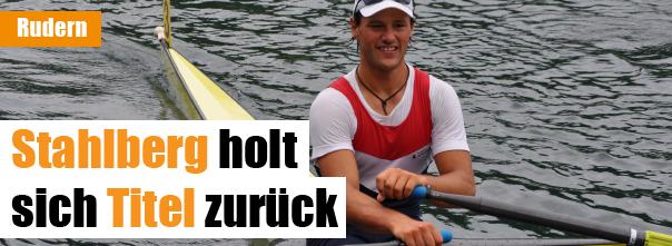 Stahlberg holte sich Skiff-Titel zurück