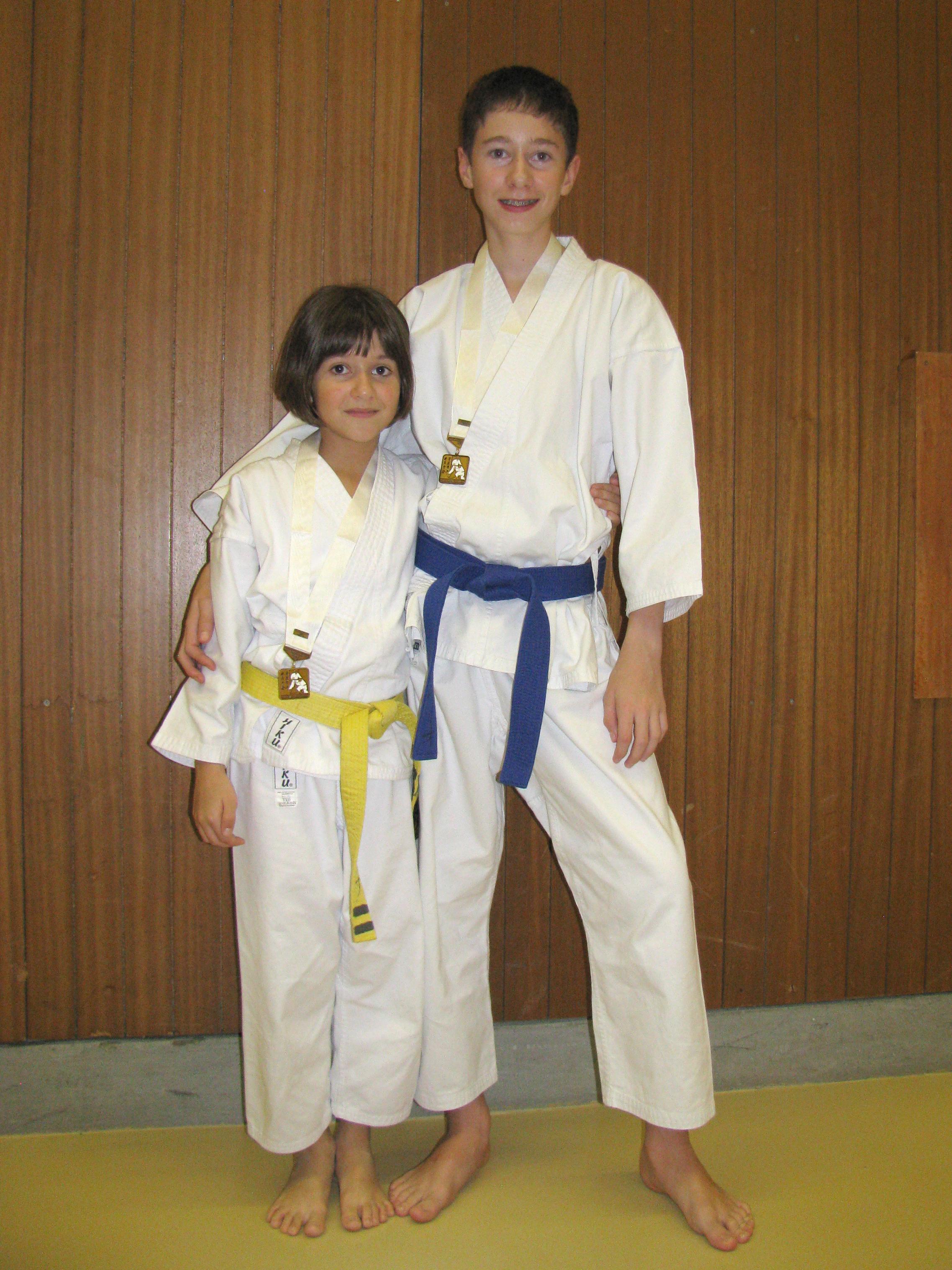 Gold und Silber für den Budo-Sport-Club Arashi Yama in Wil