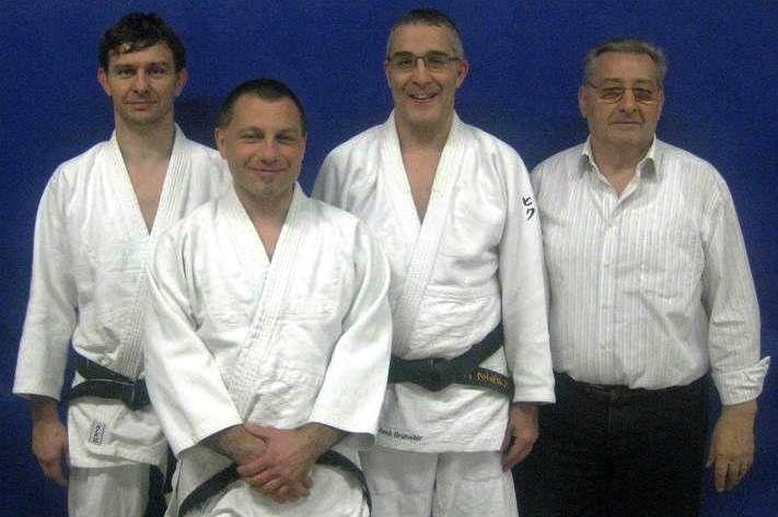 Neue hochgradierte Judo-Meister