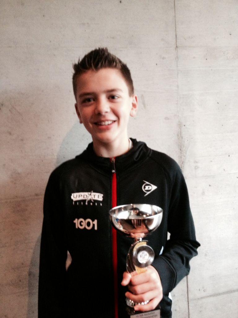 Tinko Schnegg ist Racketlon-U13-Weltmeister