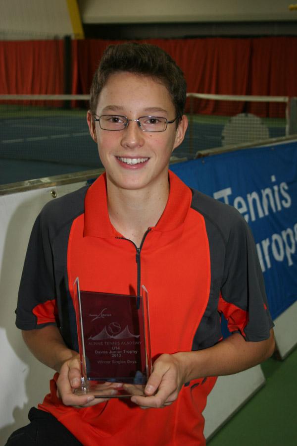 U16-Thurgauer-Meister gewinnt internationales Turnier in Davos