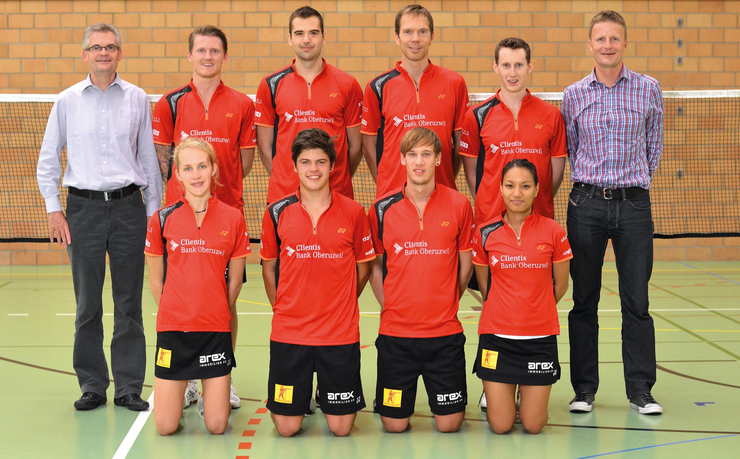 Spannung vor dem Badminton-Derby