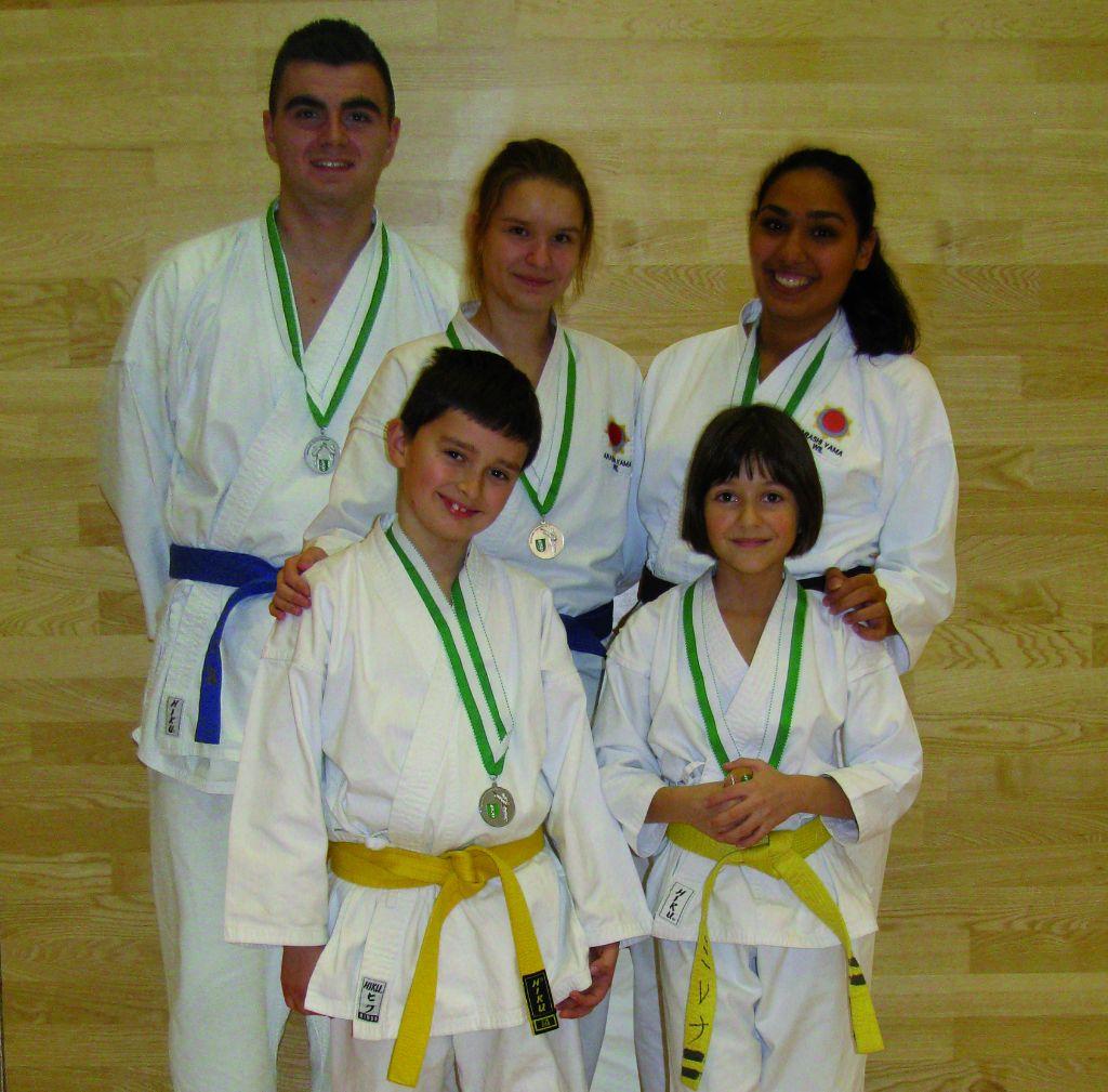 Erfolgreiches Karate Adventsturnier