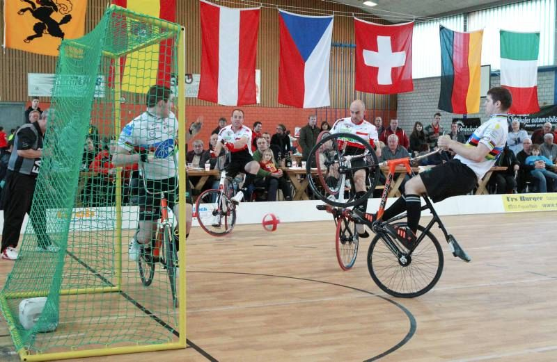 UCI Radball Weltcup in Mosnang am 30. August 2014