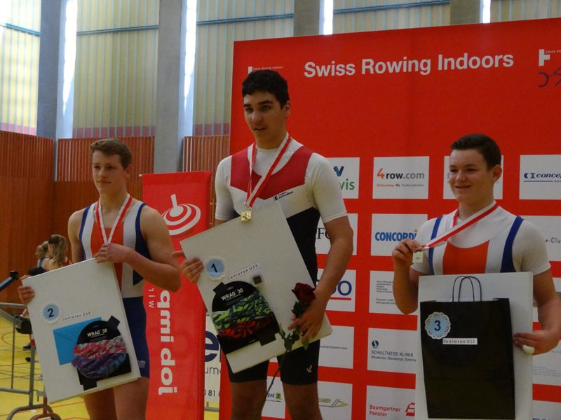Kreuzlinger Junioren-Ruderer wird Schweizer Meister