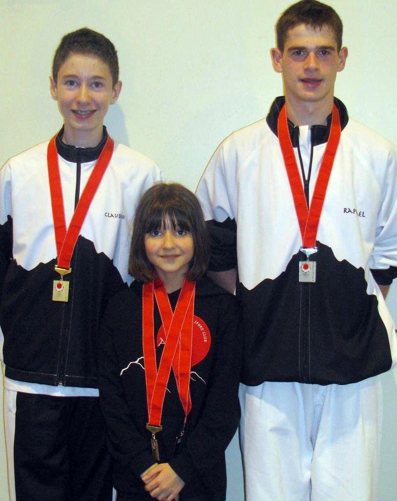 Gold und Silber für Wiler Karatekas