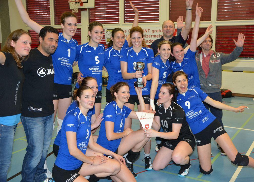 VBC Aadorf ist NLB-Meister!