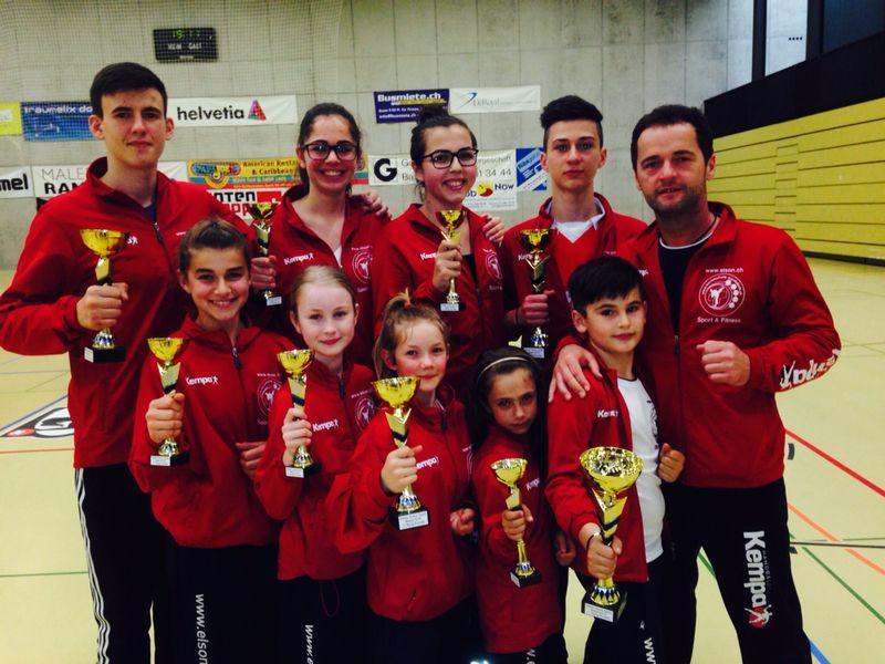 KS Martial Arts: 9 Medallien am Swiss Junior Open