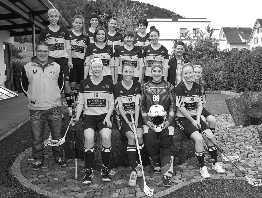 Damen 1 des UH Appenzell steigen in die 1. Liga Grossfeld auf