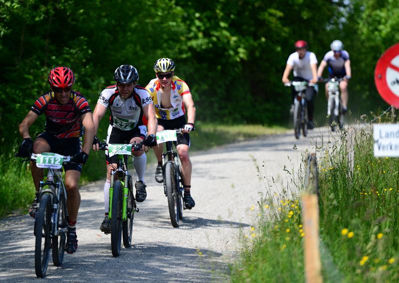 Thurathlonstrecke Bike