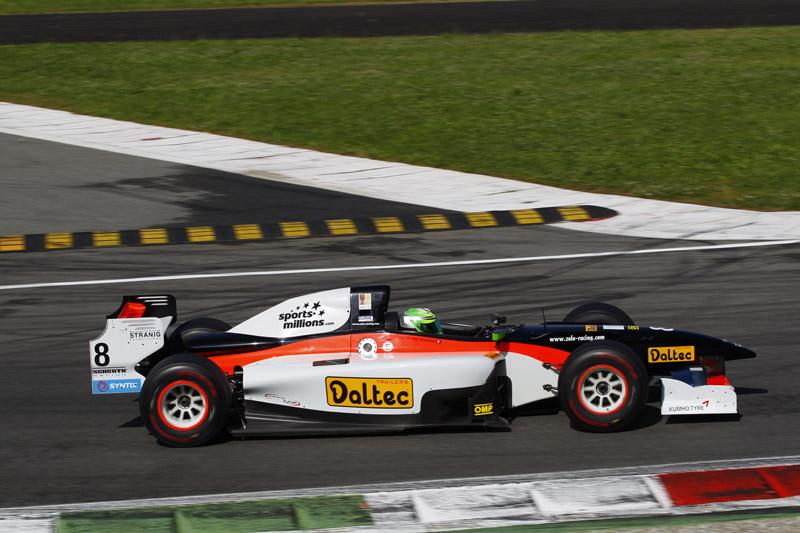 Von Grünigen mit Talentprobe bei Zele Racing am Monza-Wochenende