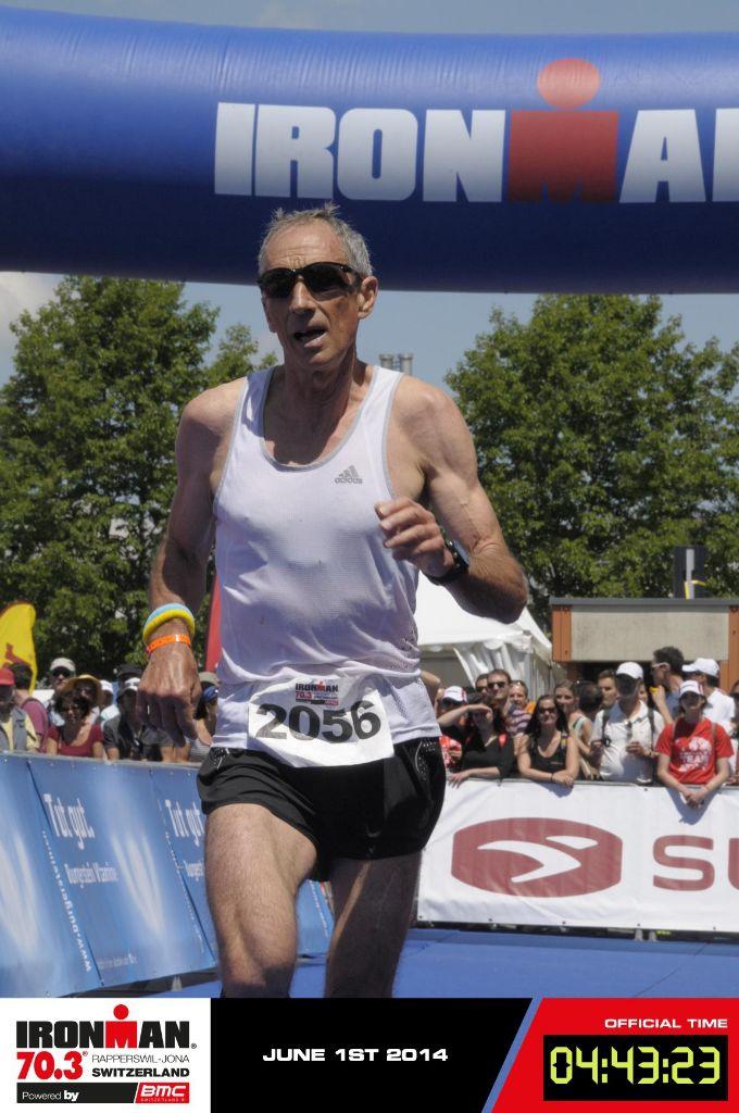 Enrico Monego gewinnt Ironman in Rapperswil und holt sich das WM-Ticket