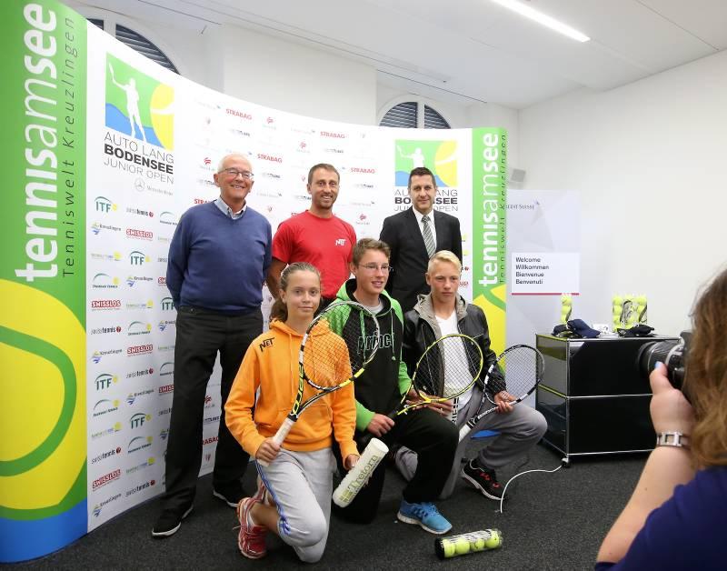 Spitzentennis beim Auto Lang Bodensee Junior Open