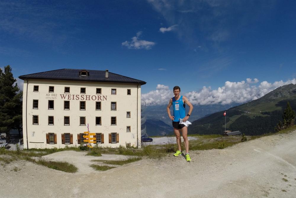 Daniel Hubmann am traditionsreichen Berglauf Sierre-Zinal