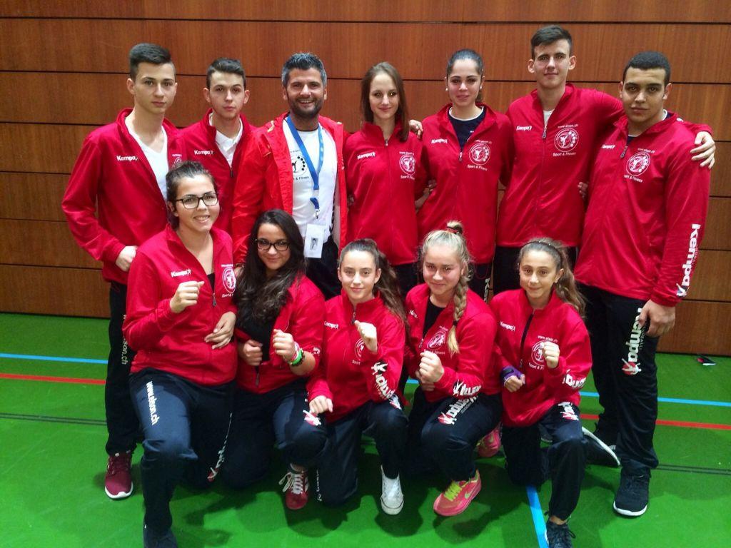 Gold für Kol Kabashi U16, Nurija Karalik U21