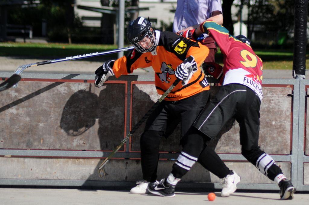 Impressionen vom Streethockey