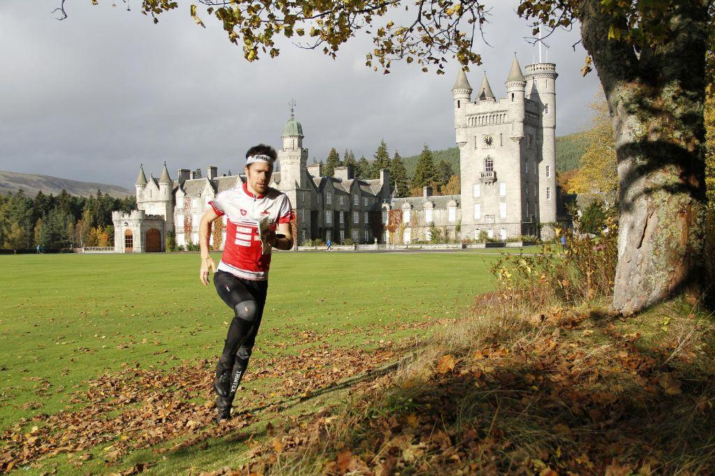 Sieg und Training in Schottland