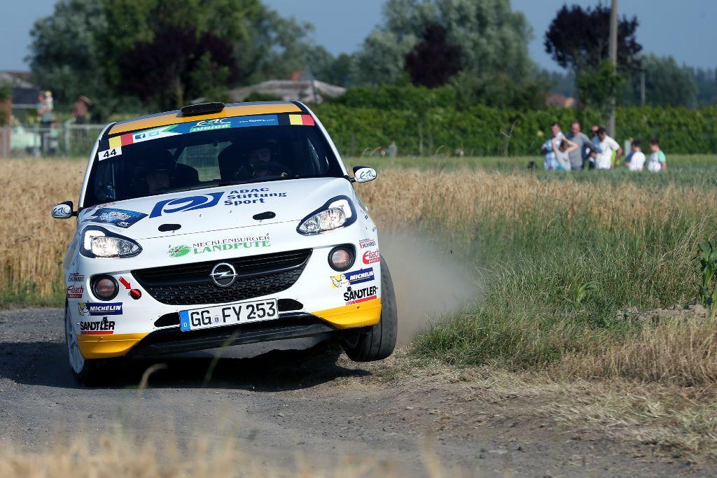 ADAC Opel Rallye Junior-Team 2015 mit Marijan Griebel und Emil Bergkvist