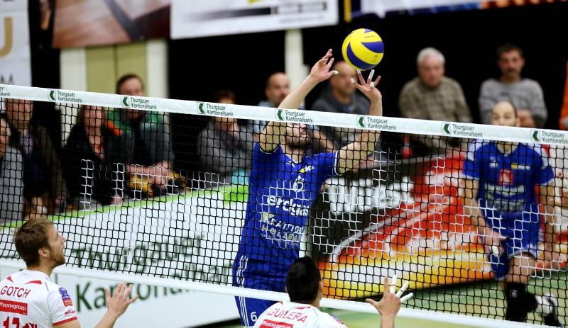 Volley Amriswil unterliegt Lugano klar in drei Sätzen