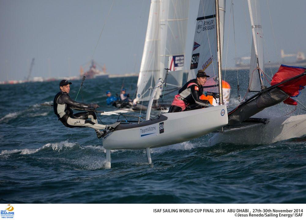 Top Ergebnisse des Swiss Sailing Teams