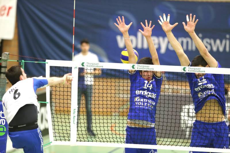 Volleyball Herren NLA: Amriswil verliert in Lugano