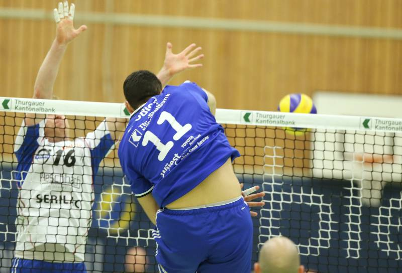 Nullnummer im ersten Pré-Playoff-Spiel von Volley Amriswil