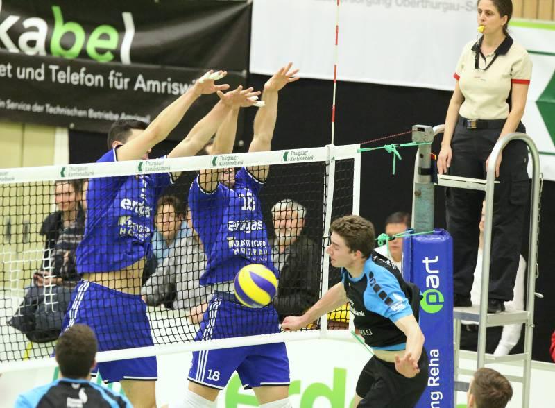 Volley Amriswil schlägt Einsiedeln in vier Sätzen