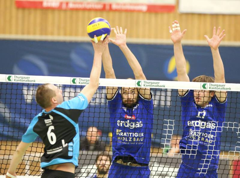 Volley Amriswil: Am Samstag Chênois, am Sonntag Malters