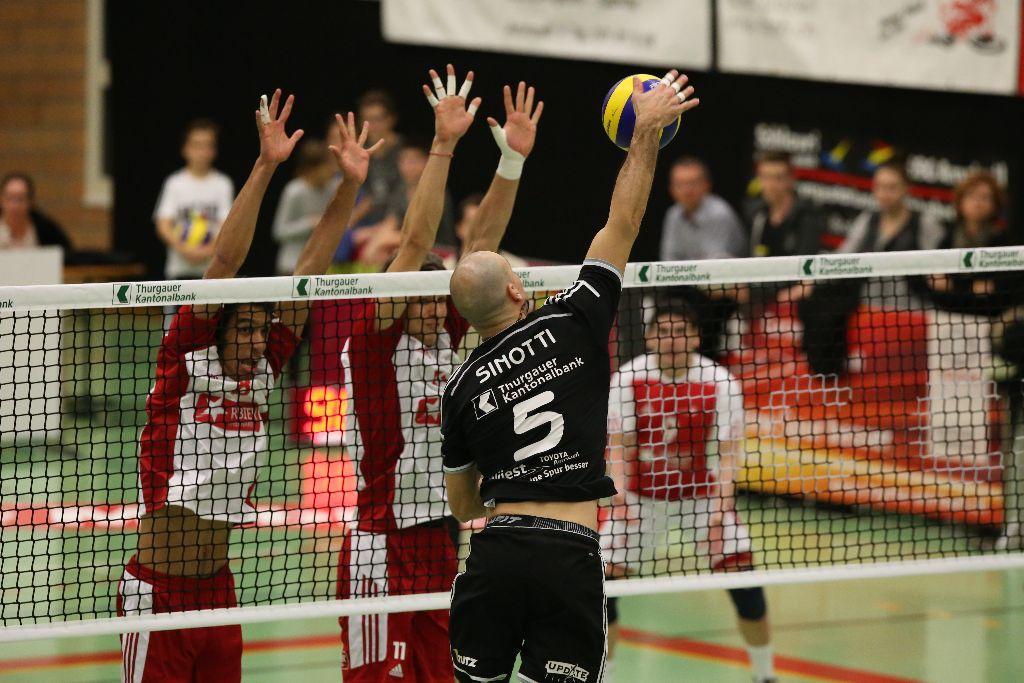 Volley Amriswil verliert zwei Mal im Tiebreak