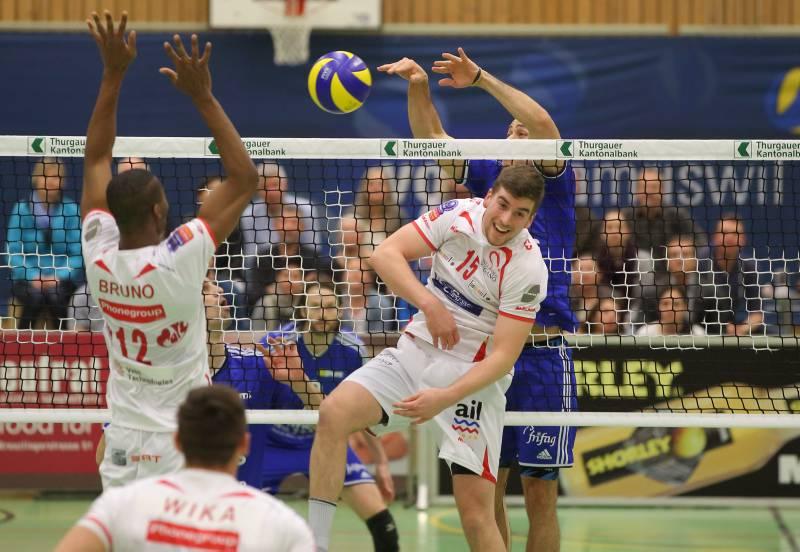 Volley Amriswil bezwingt Lugano nach Krimi in fünf Sätzen