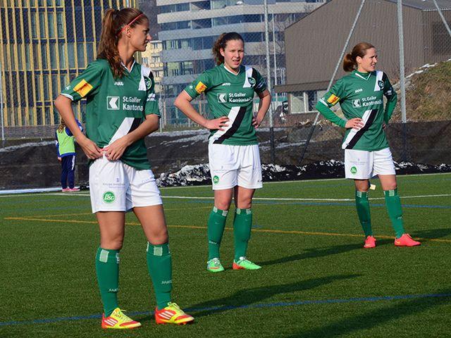 FCSG Frauen schlagen den FC Basel