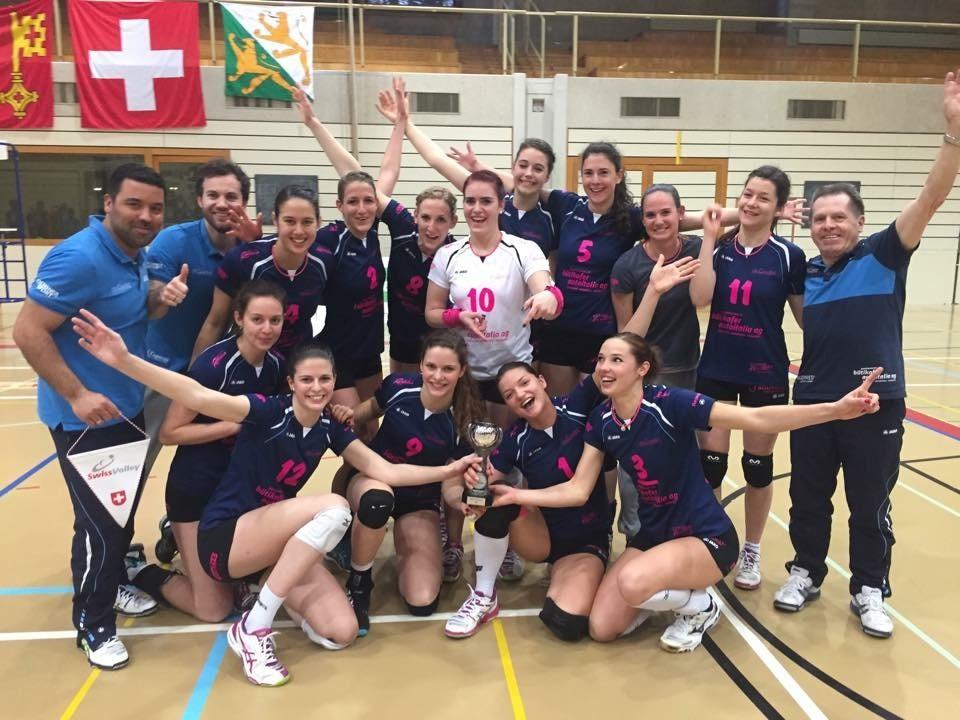 Der VBC Aadorf ist Schweizer Meister