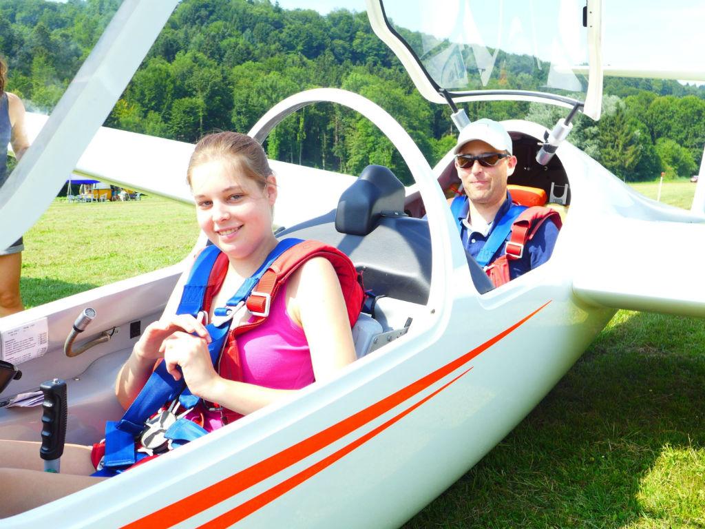 «Learn to fly»: Segelfliegen im Jugendsportcamp
