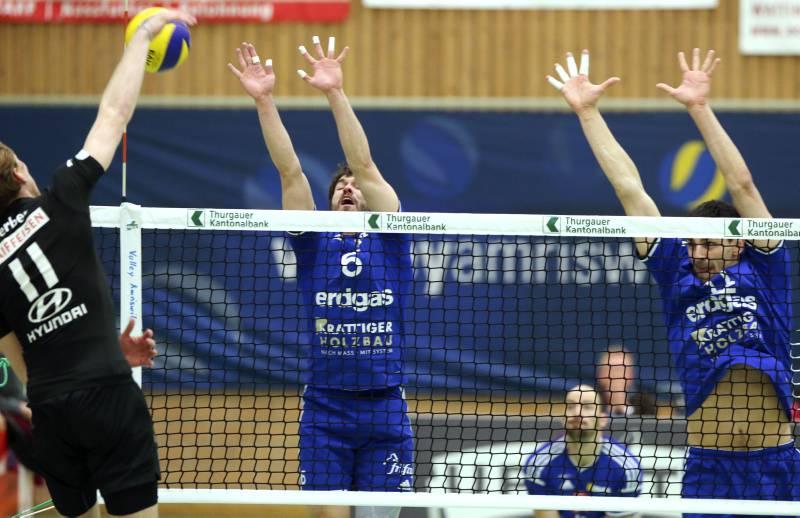 Volley Amriswil besticht gegen TV Schönenwerd mit toller Leistung