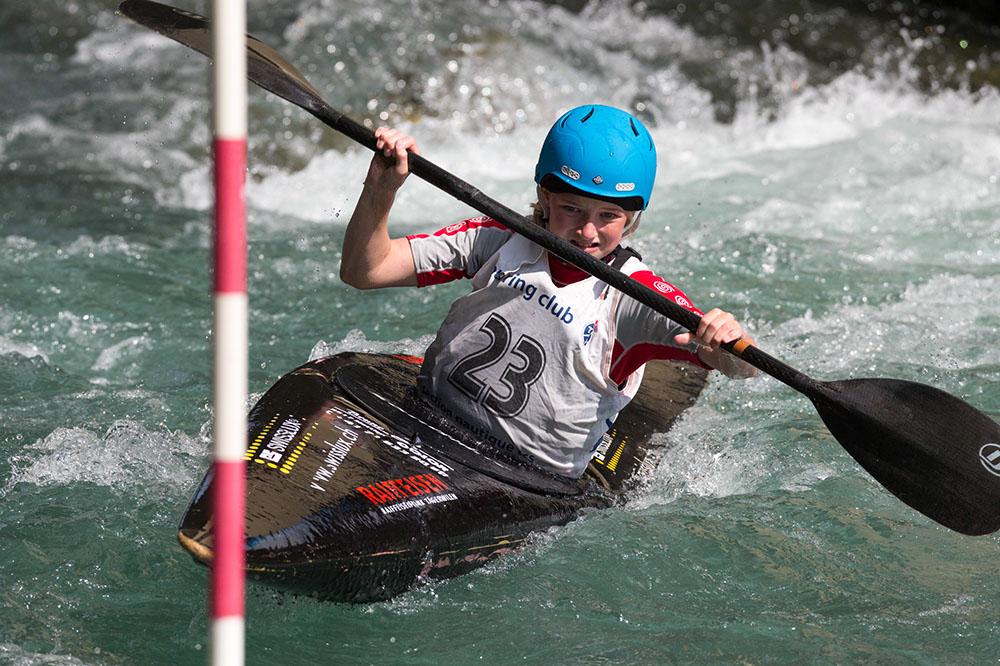 Kanuslalom: Naemi Brändle Zweite in Waldkirch (D)