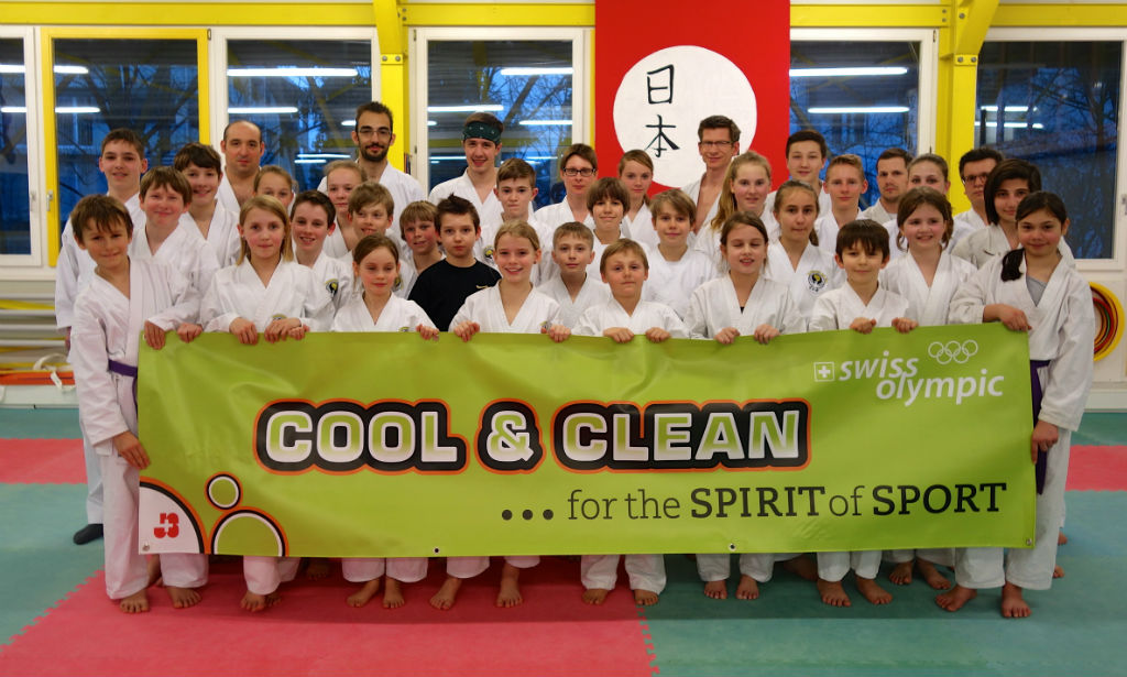 Karatecenter Reto Kern aus Kreuzlingen steht zu «cool and claen»