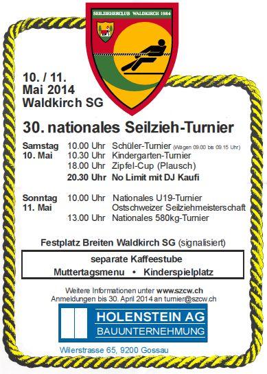 Seilziehturnier in Waldkirch