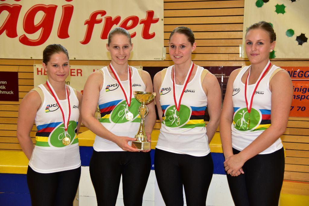 Internationale Bodensee-Meisterschaft im Kunstradfahren