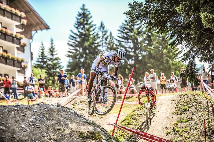 UCI Mountain Bike World Cup und Weltmeisterschaft in Lenzerheide