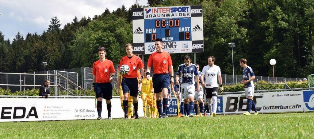 FC Gossau: Test gegen Kreuzlingen