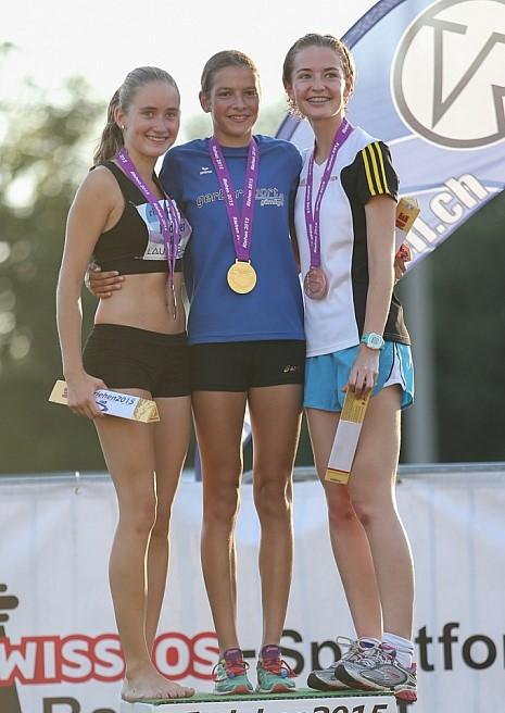 2 Medaillen an der SM für TSV Fortitudo Gossau