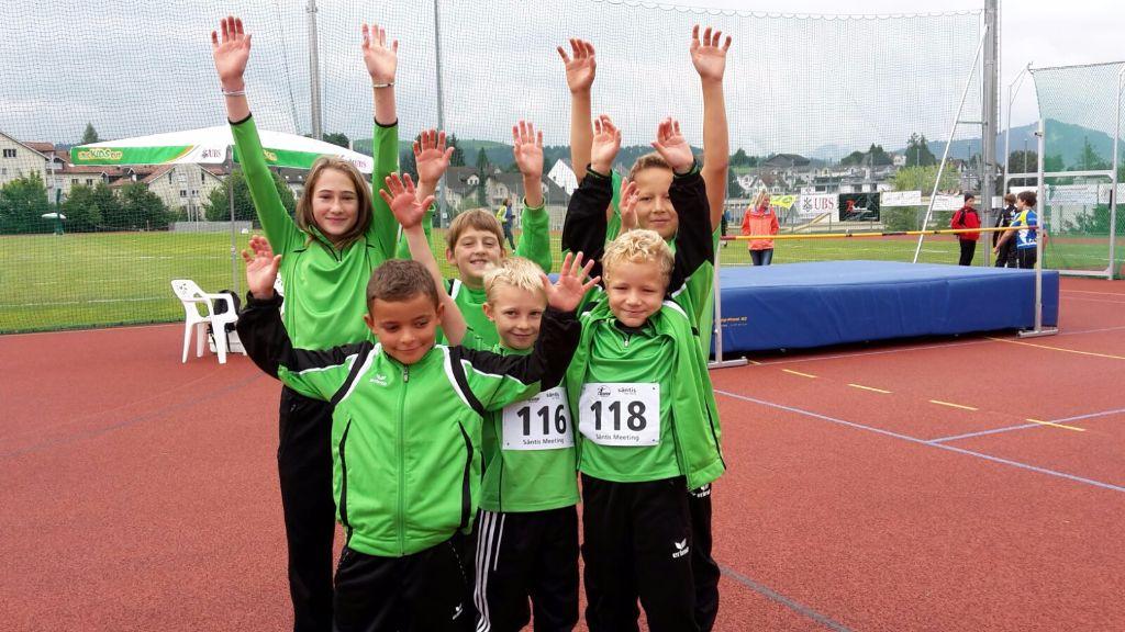 Säntis Meeting und UBS Kids Cup Schweizerfinal