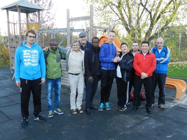 PluSport-Team: Mit Begeisterung am Turnier in Amriswil
