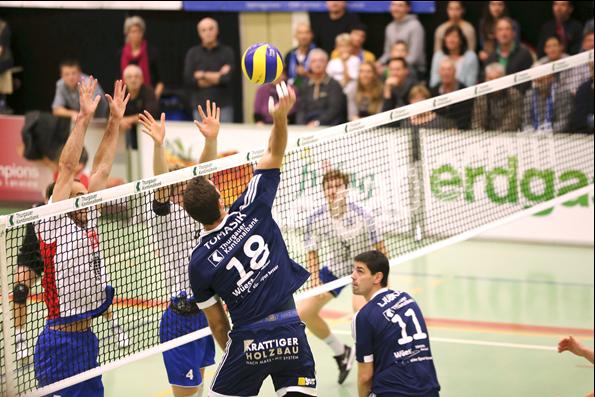 Volley Amriswil gewinnt sicher gegen starkes Schönenwerd