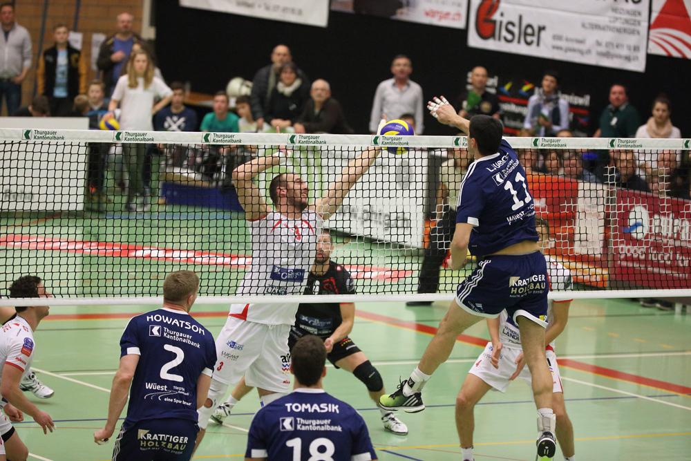 Volley Amriswil verliert gegen den Meister nur knapp