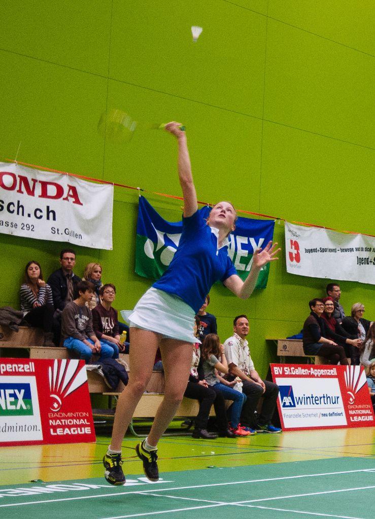 Die Badmintonvereinigung enteilt der Konkurrenz