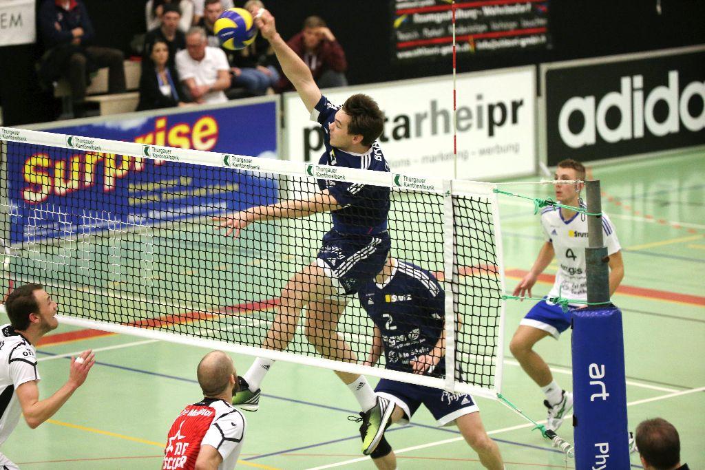 Volley Amriswil gewinnt trotz Problemen letztlich klar