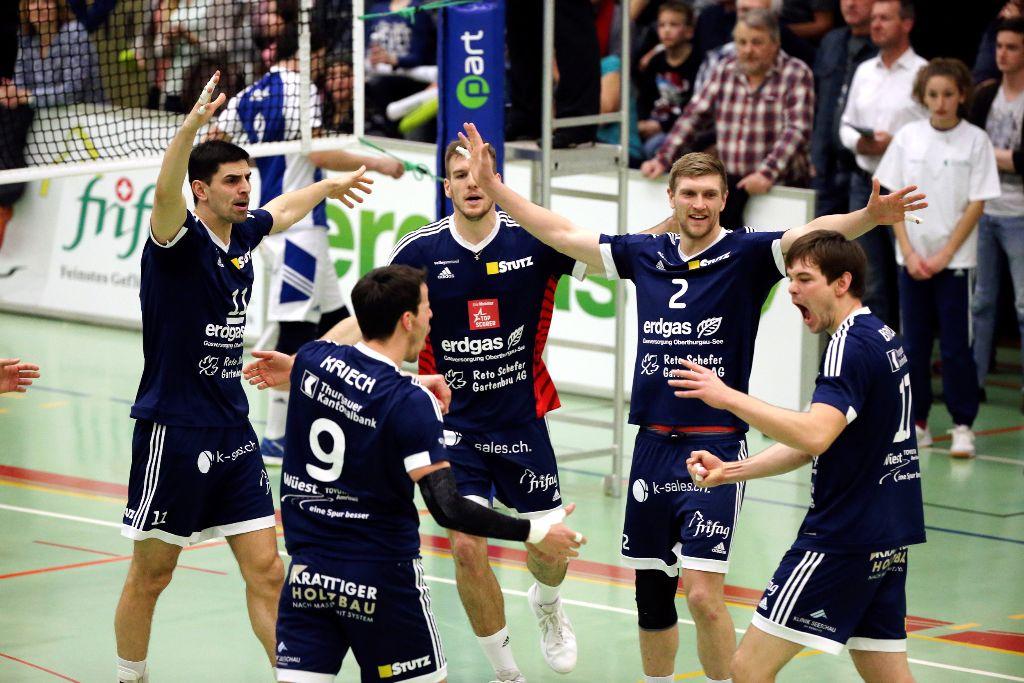Volley Amriswil sichert sich den zweiten Tabellenplatz