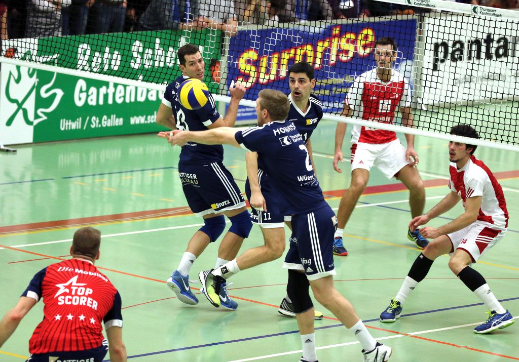 Volley Amriswil siegt auch in Jona sicher